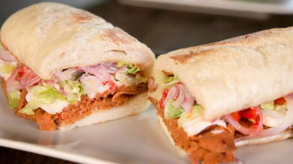 2 receitas de sanduíche vegetariano